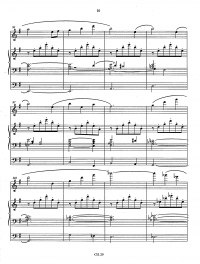 Bédard: CH. 29 Melodia for organ and flute